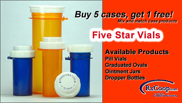 Five Star Vials