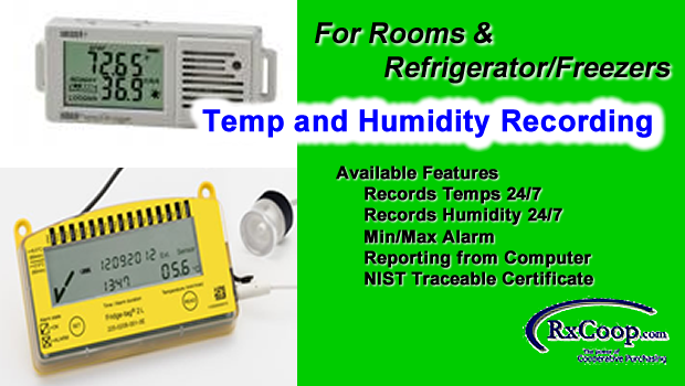 Temperature/Humidity Recording Devices